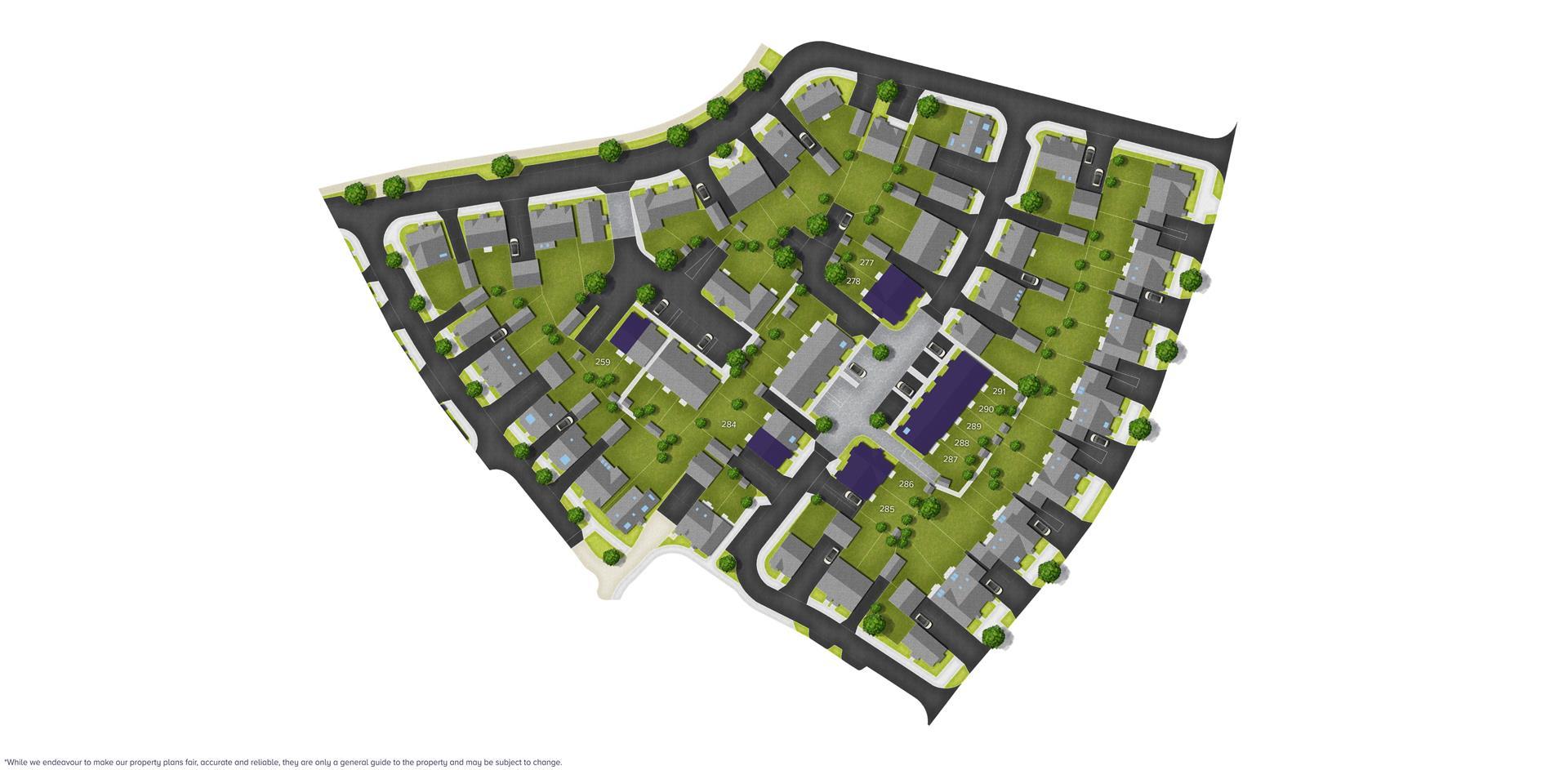 Boorley Park, Botley (Bloor) Sitemap_B 259 - 291_B